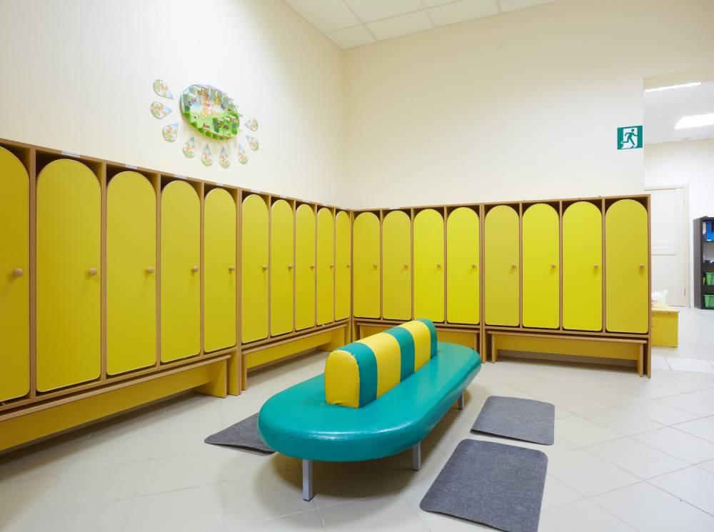 Детский сад, интерьер