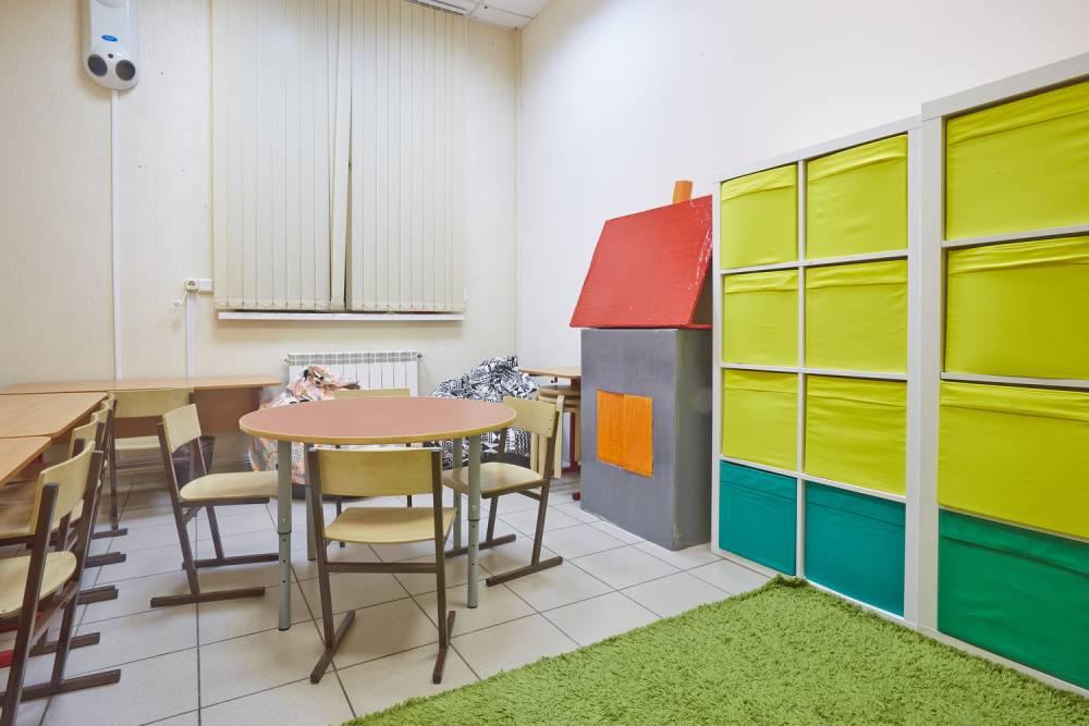 Детский садик, интерьер